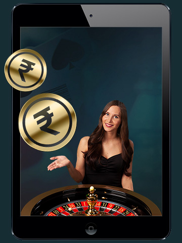 Live Casino bonus tablet